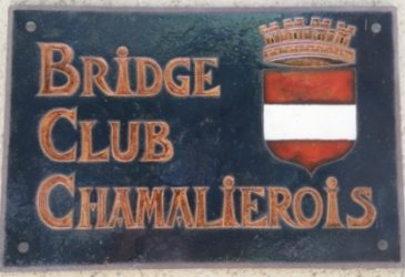 Bridge Club Chamaliérois